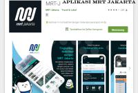 Aplikasi MRT Jakarta