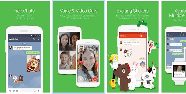 Cara membuat grup chat di Line Android