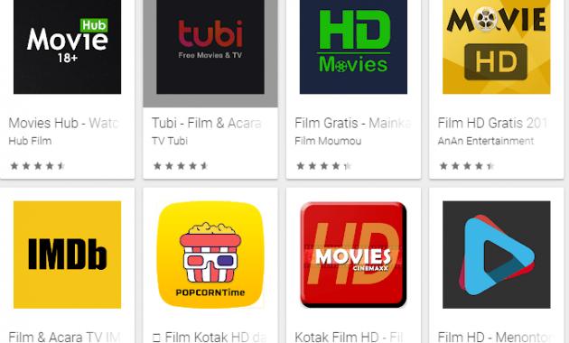 Aplikasi Streaming Film Gratis Untuk Android Terbaik