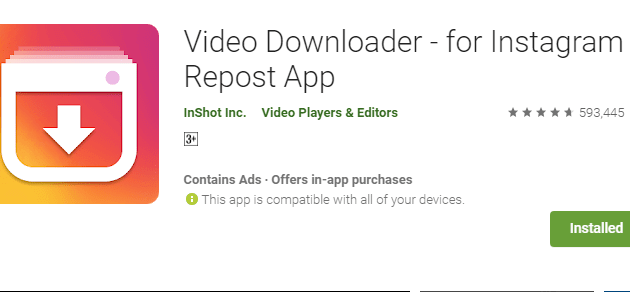 Aplikasi download video