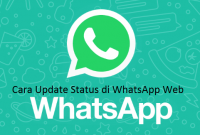 Cara Update Status di WhatsApp Web