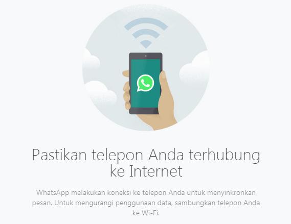 Cara menggunakan satu akun whatsapp pada dua perangkat