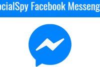 SocialSpy Facebook Messenger