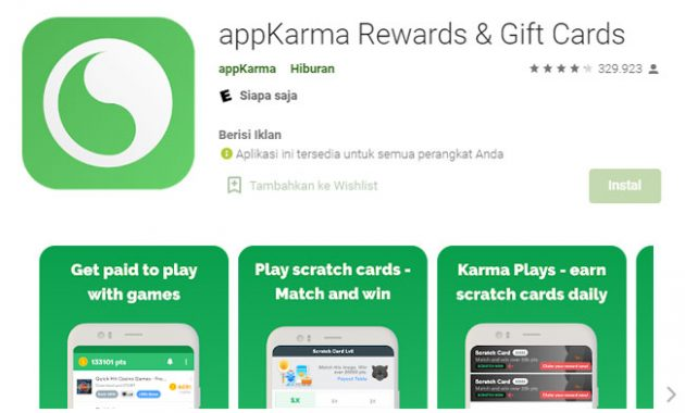 Appkarma reward and gift card