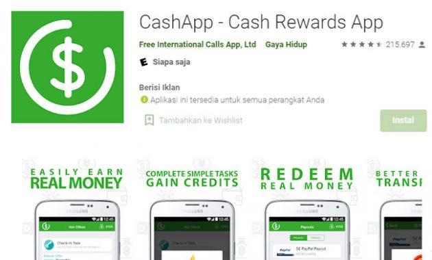 Cash app cash reward app