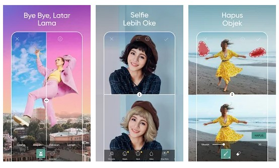 Aplikasi Sky Editor - Photo Filter For Travel And Picnic