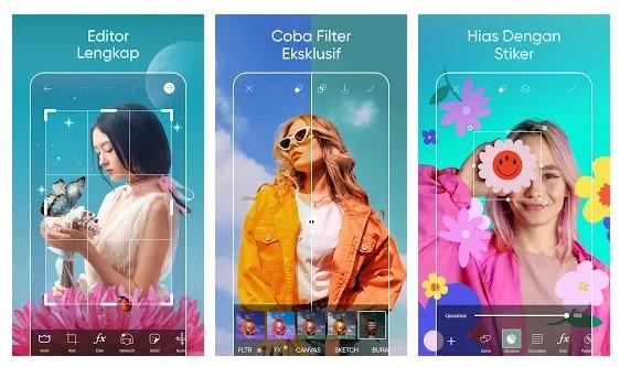 Aplikasi Modern Hijab Idol Photo Editor