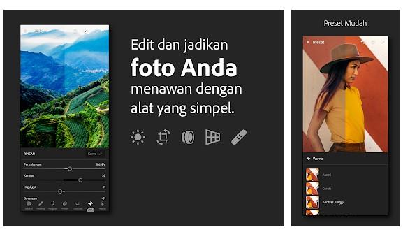 Aplikasi Editor Foto Pixover - Mudah Pengeditan Gambar