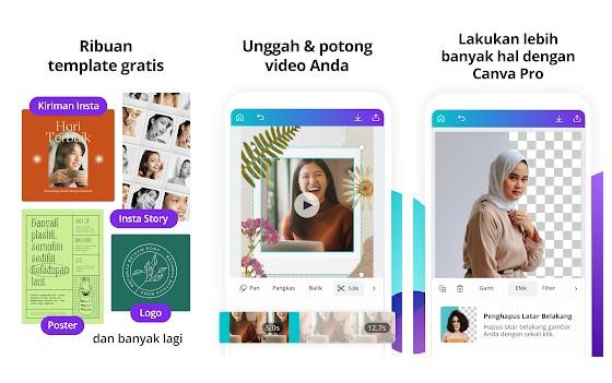 Aplikasi Pengedit Foto - Mencampur