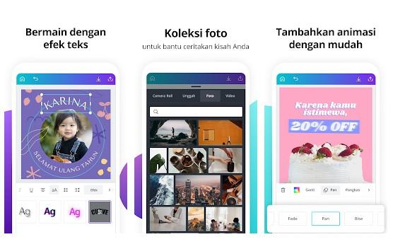 Aplikasi Pembuat Video Dengan Foto & Musik